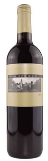 Chateau Costes Cirgues Organic 2012 75cl